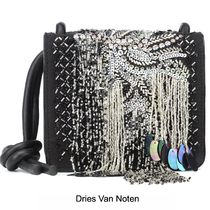 Dries Van Noten Casual Style Blended Fabrics 2WAY Leather Elegant Style
