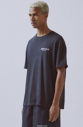 FEAR OF GOD Crew Neck Crew Neck Street Style Cotton Short Sleeves Oversized 3
