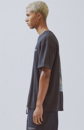 FEAR OF GOD Crew Neck Crew Neck Street Style Cotton Short Sleeves Oversized 4