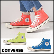 CONVERSE ALL STAR Star Casual Style Unisex Street Style Logo Low-Top Sneakers