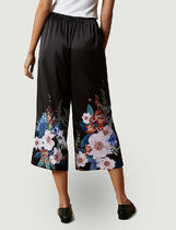 TED BAKER Flower Patterns Casual Style Medium Office Style Culottes