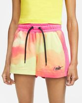 Nike Printed Pants Short Casual Style Blended Fabrics