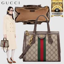 GUCCI Ophidia Ophidia Small Gg Tote Bag