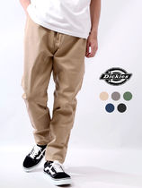 Dickies Tapered Pants Unisex Street Style Logo Pants