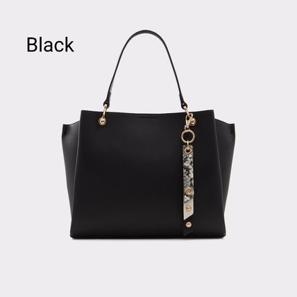 Casual Style 2WAY Plain Office Style Crossbody Formal Style