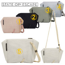 State of Escape Casual Style 2WAY Plain Handmade Party Style Crossbody