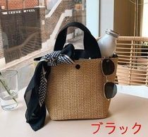 Casual Style Bag in Bag Plain Elegant Style Totes