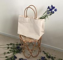 Casual Style Street Style Bag in Bag A4 Plain Totes