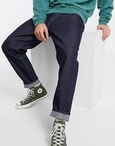 Carhartt Tapered Pants Denim Street Style Plain Cotton Tapered Pants