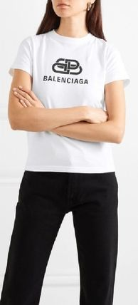 Plain Cotton Logo T-Shirts