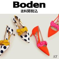 Boden Dots Casual Style Blended Fabrics Street Style Plain