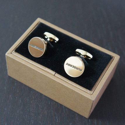 Burberry Cufflinks Plain Logo Accessories