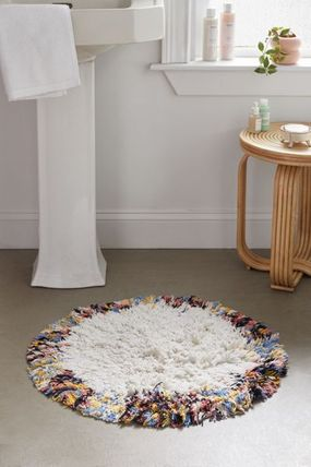 Urban Outfitters Round Scandinavian Style Bath Mats & Rugs Kitchen Rugs