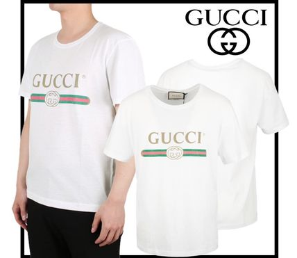 GUCCI More T-Shirts Street Style Short Sleeves Luxury T-Shirts