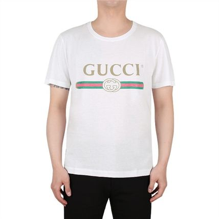 GUCCI More T-Shirts Street Style Short Sleeves Luxury T-Shirts 2