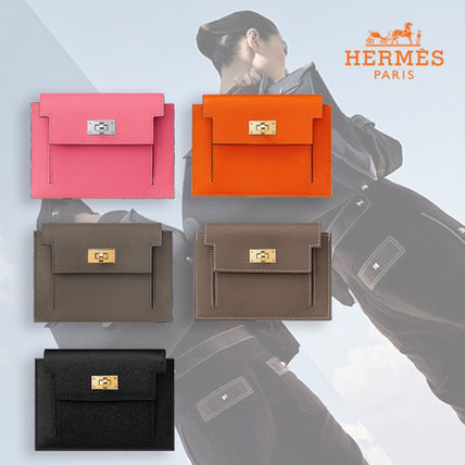 HERMES Kelly Kelly Pocket Compact Wallet
