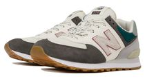 New Balance 574 Rubber Sole Casual Style Unisex Suede Faux Fur Street Style