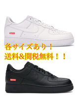 Nike AIR FORCE 1 Unisex Street Style Leather Logo Sneakers