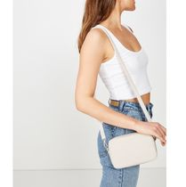 Cotton on Plain Shoulder Bags