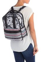 LeSportsac Stripes Flower Patterns Nylon Backpacks