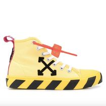 Off-White Street Style Plain Sneakers