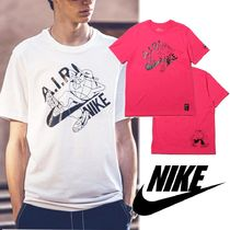 Nike Crew Neck Unisex Street Style Cotton Short Sleeves Logo