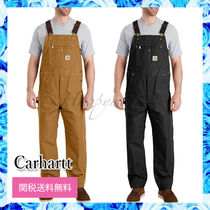 Carhartt Plain Cotton Overalls Bottoms