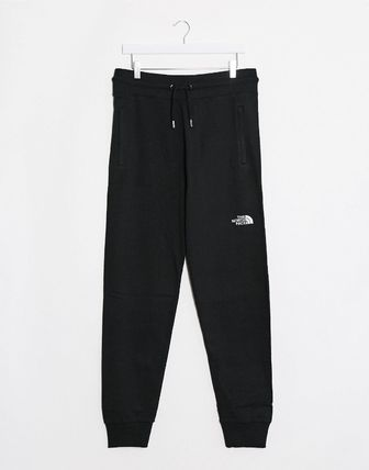 THE NORTH FACE Tapered Pants Street Style Plain Cotton Logo Tapered Pants