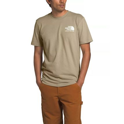 THE NORTH FACE More T-Shirts Unisex Street Style Cotton Short Sleeves Outdoor T-Shirts 2