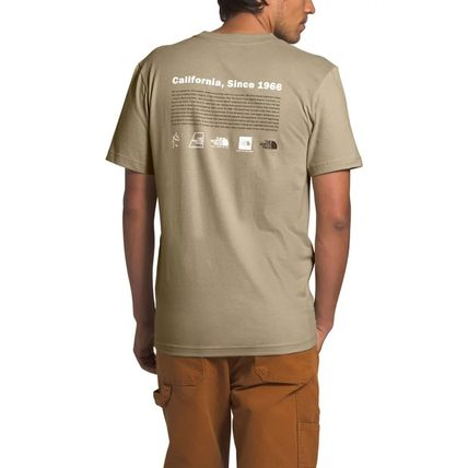 THE NORTH FACE More T-Shirts Unisex Street Style Cotton Short Sleeves Outdoor T-Shirts 3