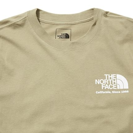 THE NORTH FACE More T-Shirts Unisex Street Style Cotton Short Sleeves Outdoor T-Shirts 4