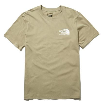THE NORTH FACE More T-Shirts Unisex Street Style Cotton Short Sleeves Outdoor T-Shirts 6