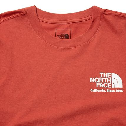 THE NORTH FACE More T-Shirts Unisex Street Style Cotton Short Sleeves Outdoor T-Shirts 13