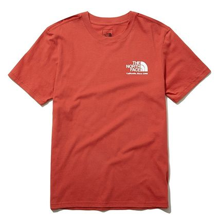 THE NORTH FACE More T-Shirts Unisex Street Style Cotton Short Sleeves Outdoor T-Shirts 16
