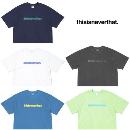 thisisneverthat More T-Shirts Plain Short Sleeves T-Shirts