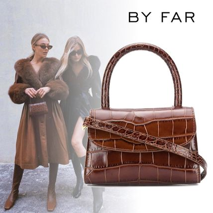 Casual Style 2WAY Leather Party Style Elegant Style