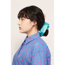 Scrunchy Casual Style Blended Fabrics Animal Street Style