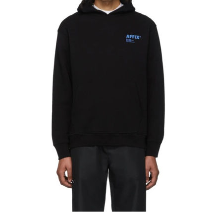 Pullovers Street Style Long Sleeves Plain Cotton Logo