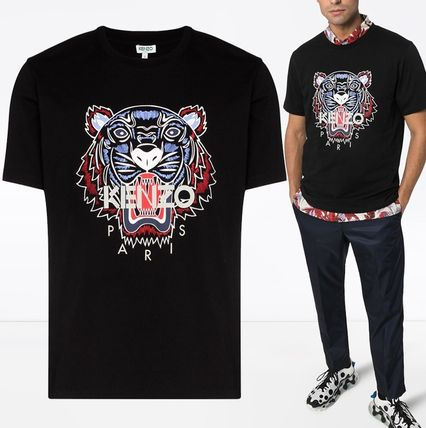 KENZO Long Sleeve Long Sleeves Cotton Logos on the Sleeves Long Sleeve T-shirt