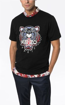 KENZO Long Sleeve Long Sleeves Cotton Logos on the Sleeves Long Sleeve T-shirt 3
