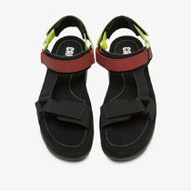 CAMPER Platform Casual Style Street Style Plain Leather