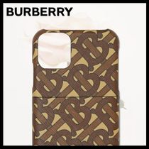 Burberry Monogram iPhone 11 Pro Smart Phone Cases