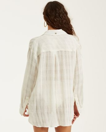 Casual Style Long Sleeves Shirts & Blouses
