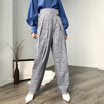 Printed Pants Gingham Glen Patterns Tartan