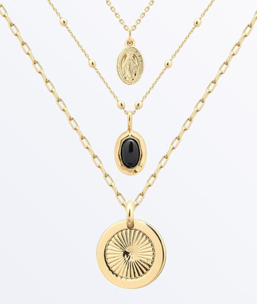 Casual Style Coin Brass Office Style 14K Gold Elegant Style