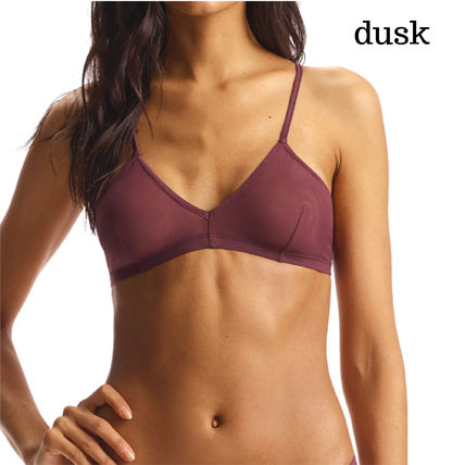 Nylon Plain Cotton Bras