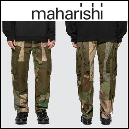 Camouflage Street Style Military Cargo Pants