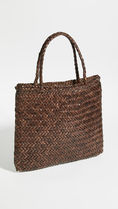 Dragon Diffusion Street Style A4 Plain Leather Straw Bags
