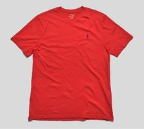 POLO RALPH LAUREN Unisex Street Style V-Neck Plain Cotton Short Sleeves Logo