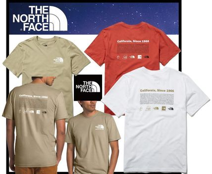 THE NORTH FACE More T-Shirts Unisex Street Style Outdoor T-Shirts